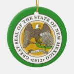 New Mexico Christmas Ornament