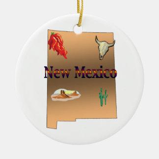 New Mexico Christmas Tree Ornament