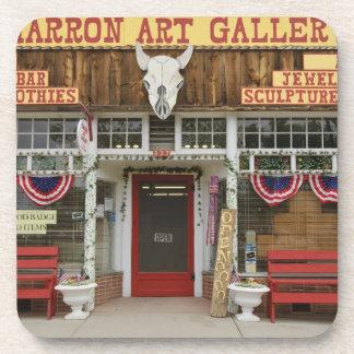 New Mexico, Cimarron. Cimarron art gallery, New Coaster