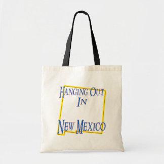 New México - colgando hacia fuera Bolsas Lienzo