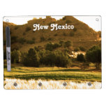 New Mexico Countryside Dry Erase Board With Keychain Holder