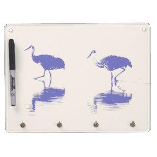 New Mexico Cranes Dry Erase Board
