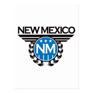 New Mexico Crest Design Postcard