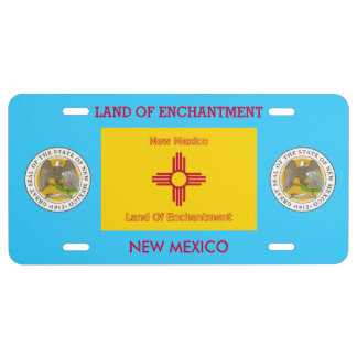 New Mexico Custom Front License Plate