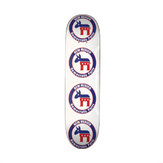 New Mexico Democratic Party Skateboard