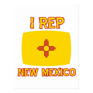 New mexico designs postcard