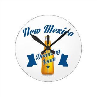 New Mexico Drinking team Round Clock