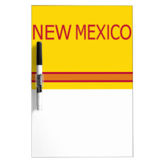 New Mexico Dry Erase Board