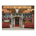 New México, el Cimarrón. Galería de arte del Tarjeta Postal