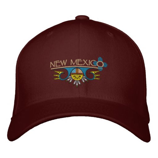 New Mexico Embroidered Baseball Cap