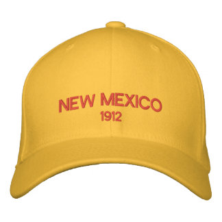 New Mexico Embroidered Hat