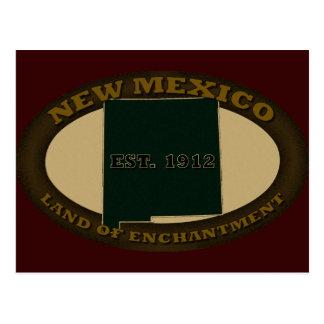 New México Est. 1912 Postal