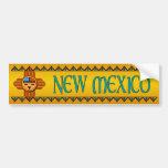 New México Etiqueta De Parachoque