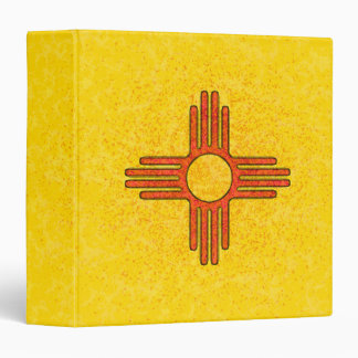 """NEW MEXICO FLAG 1.5"""" Ring Binder"""