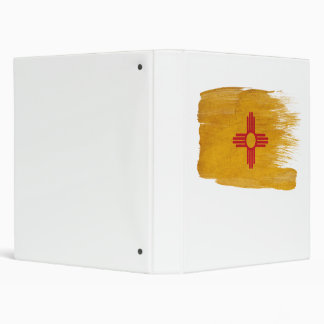 New Mexico Flag 3 Ring Binder