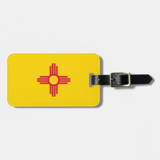 New Mexico flag Bag Tag