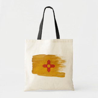 New Mexico Flag Canvas Bags