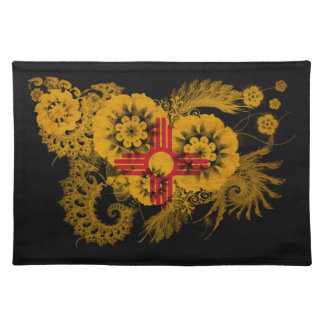 New Mexico Flag Cloth Placemat