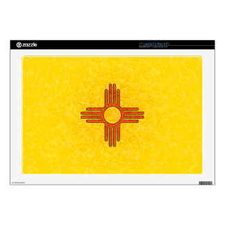 """NEW MEXICO FLAG Computer Skin Skin For 17"""" Laptop"""