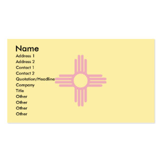 New Mexico Flag Double-Sided Standard Business Cards (Pack Of 100)