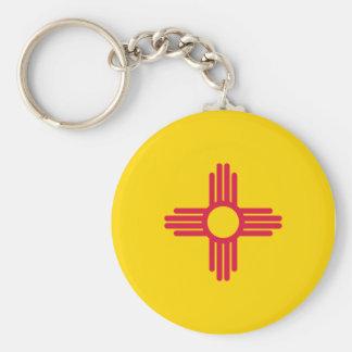 New Mexico Flag Keychain