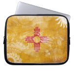 New Mexico Flag Laptop Computer Sleeves