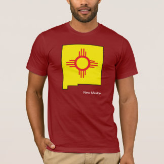 New Mexico Flag Map Shirt