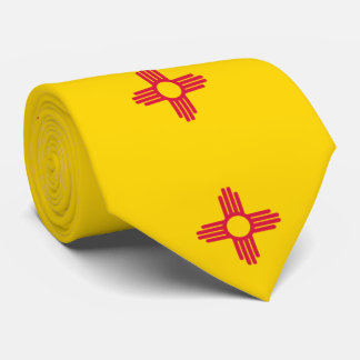 New Mexico Flag Neck Tie