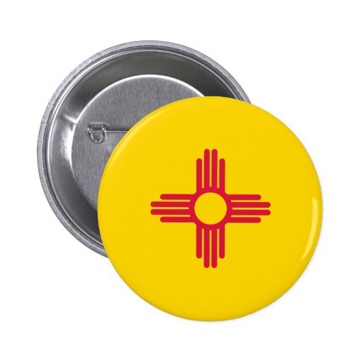 New Mexico Flag Pin