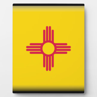 New Mexico Flag Display Plaques