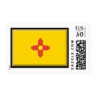 New Mexico Flag Postage