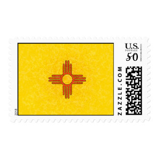 NEW MEXICO FLAG Postage Stamp