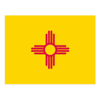New Mexico Flag Post Card