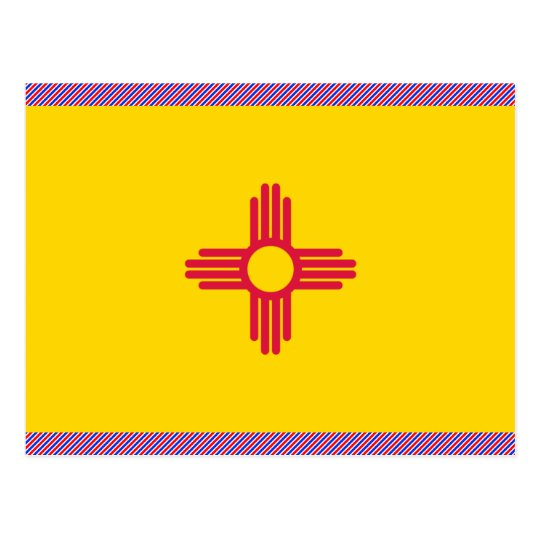 New Mexico Flag Postcard
