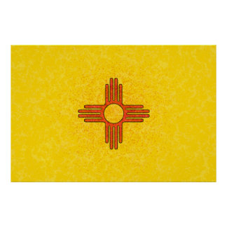 NEW MEXICO FLAG Poster
