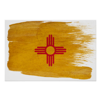New Mexico Flag Posters