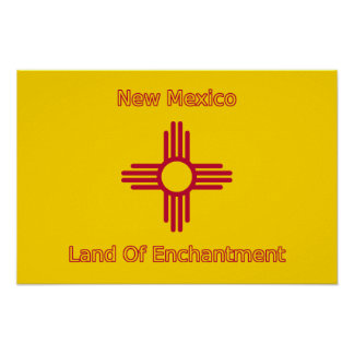 New Mexico Flag Print