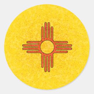 NEW MEXICO FLAG STICKER