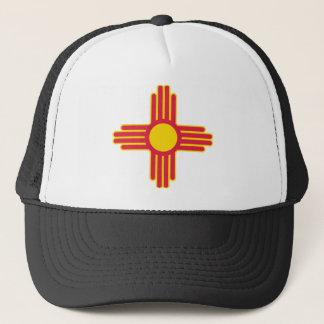 New Mexico Flag Theme 00 Trucker Hat