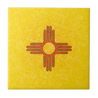 NEW MEXICO FLAG Tile