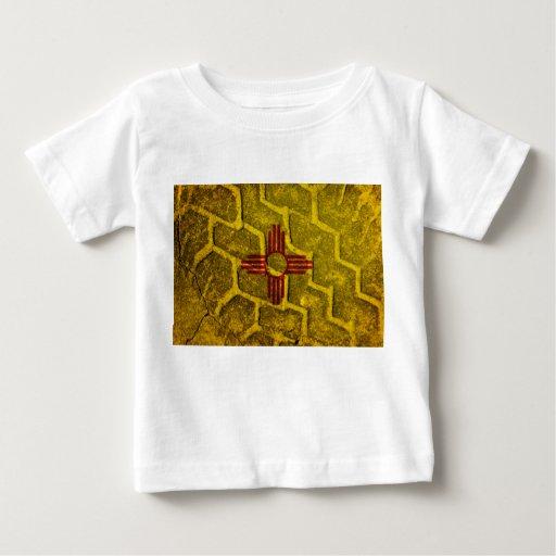 New Mexico flag Tread T Shirt