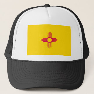 New Mexico Flag Trucker Hat