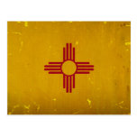 New Mexico Flag VINTAGE.png Postcard