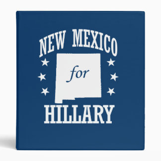 NEW MEXICO FOR HILLARY VINYL BINDERS