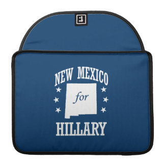 NEW MEXICO FOR HILLARY SLEEVES FOR MacBook PRO