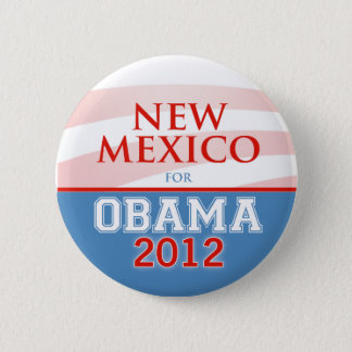 NEW MEXICO for Obama 2012 Button