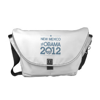 NEW MEXICO FOR OBAMA 2012.png Messenger Bags