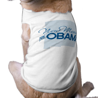 New Mexico for Obama.png Pet Tshirt