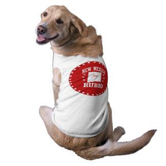 NEW MEXICO FOR RUBIO DOG TSHIRT