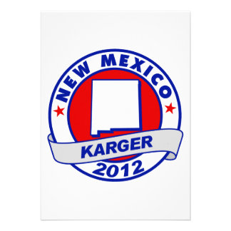 New Mexico Fred Karger Invitations